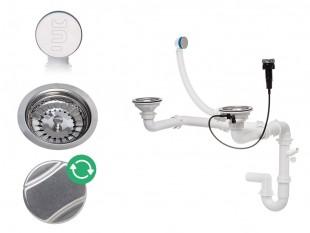 Automatický dvoukomorový sifon se skrytým přetečením