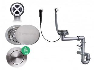 Automatický Pop-up jednokomorový sifon + odtokovým krytem