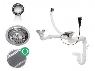 Automatický dvoukomorový sifon