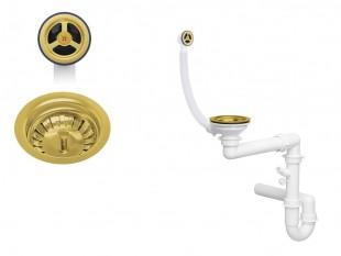 Klasický zlatý jednokomorový sifon